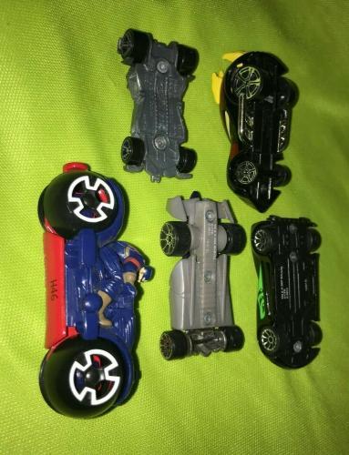 5pc Lot Marvel Dc Comics Hot Wheels Super Hero Car Lot Venom Batman Star Wars ++