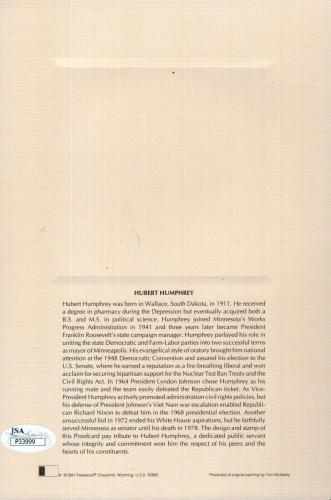 Ruth Bader Ginsburg Hand Signed Fdc Card    5 Justices Signed      Rare      Jsa