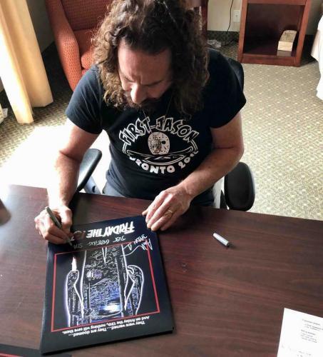 "Ari Lehman ""Jason 1 F13 1980"" signed Friday the 13th 8x10 photo ~Beckett BAS COA"
