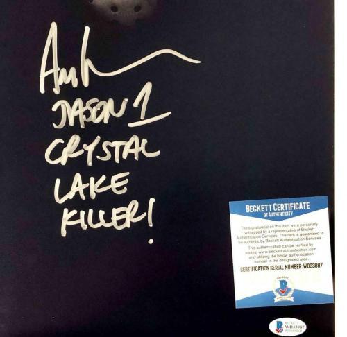 "Ari Lehman ""Crystal Lake Killer"" signed Friday the 13th 11x14 photo  BAS COA"