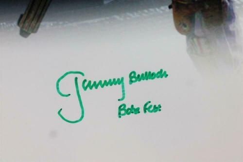 Jeremy Bulloch Signed Boba Fett 16x20 White Double Image Photo - JSA Auth *Green