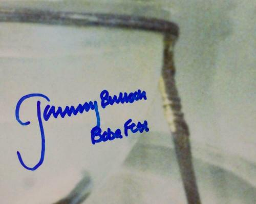 Jeremy Bulloch Signed Boba Fett 16x20 In Cantina Photo - JSA Auth *Blue