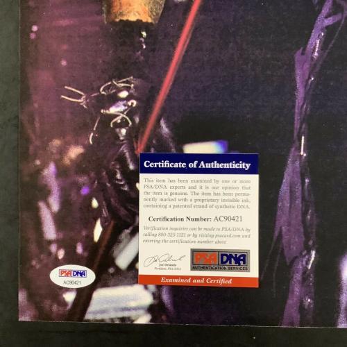 Vince Neil Signed Photo 16x20 Motley Crue Autograph Lead Singer 80's PSA/DNA 1