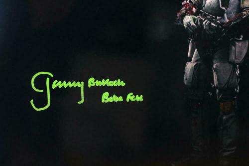 Jeremy Bulloch Signed Boba Fett 16x20 Black Double Image Photo - JSA Auth *Green