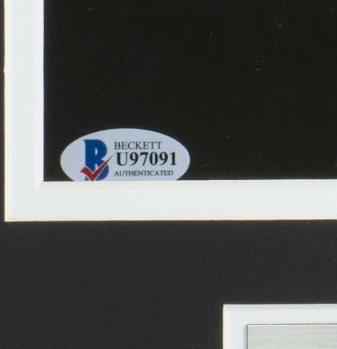 Gene Simmons Signed Framed 11x14 Kiss Photo BAS