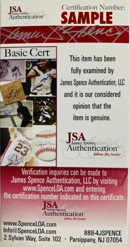 President Donald Trump Signed 11x14 Photo James Spence JSA Certified