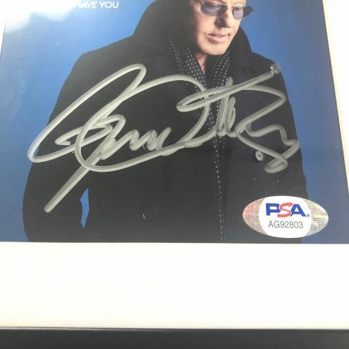 Roger Daltrey Signed Album CD Cover Framed PSA/DNA Autographed