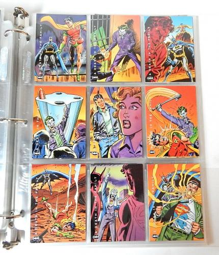 Batman Trading Card Set Lot 1994 Skybox Complete 1993 Animated Partial 4 Inserts