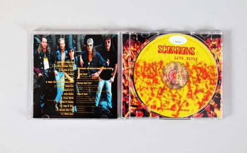 Scorpions Signed CD – Rudolf Schenker, Klause Meine, James Kottak – COA JSA