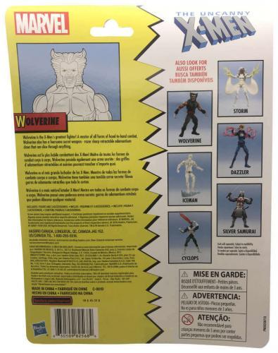 Marvel Legends Uncanny X-Men Wolverine Figurine Hasbro