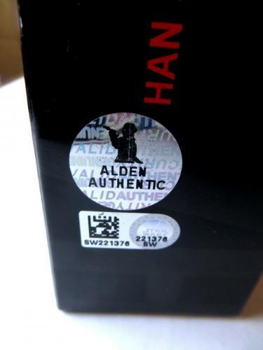 Alden Ehrenreich Signed Autographed Action Figure Han Solo Star Wars SW221376