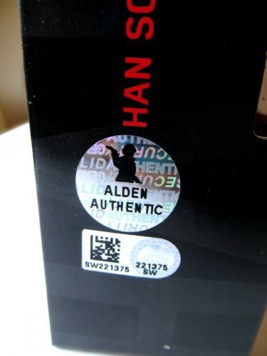 Alden Ehrenreich Signed Autographed Action Figure Han Solo Star Wars SW221375