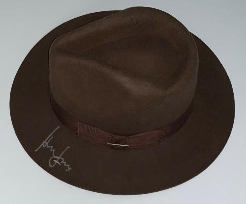 Harrison Ford Signed Indiana Jones Authentic Hat Beckett Bas Loa A35026