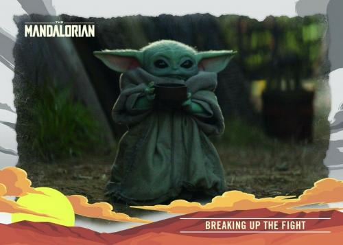 Star Wars Mandalorian Cards Journey of the Child Box Baby Yoda (Topps 2020)
