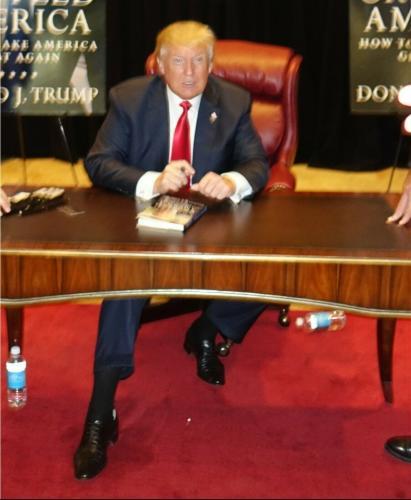 Donald Trump 11x14  Signed Autographed Color Photo Jsa Coa
