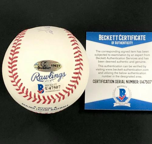 Disney legend Dick Van Dyke autograph signed MLB Baseball PSA/DNA COA