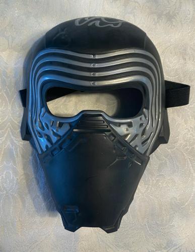 Kylo Ren Adam Driver Signed Star Wars Movie Mask Helmet - Beckett BAS COA