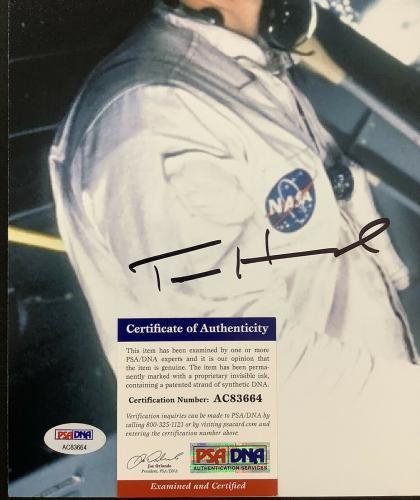 Tom Hanks Signed Photo 11x14 Autograph Apollo 13 Actor Forrest Gump Big PSA/DNA