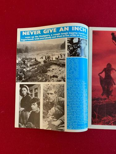 "1972, Paul Newman ""Film Review"" Magazine (Scarce / Vintage)"