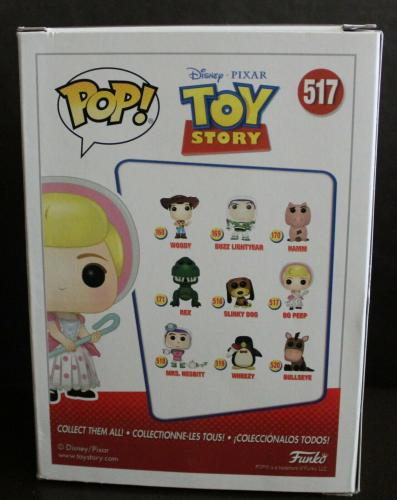 Annie Potts Signed Toy Story Bo Peep Funko Pop #517 w/Beckett COA Y88514