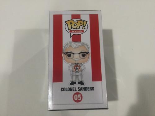 Jason Alexander Signed Autographed KFC Colonel Funko Pop BECKETT BAS COA a