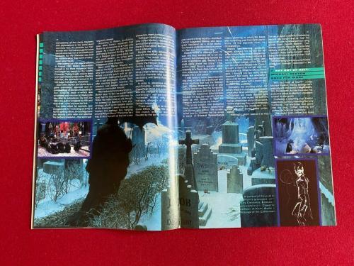 "1992, BATMAN, ""PREVUE"" Magazine (No Label) Vintage / Scarce (Michael Keaton)"
