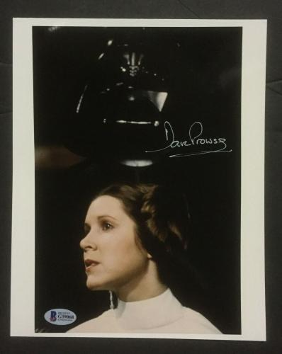 David Prowse Signed 8x10 Darth Vader Star Wars Photo Framed Auto Beckett BAS COA