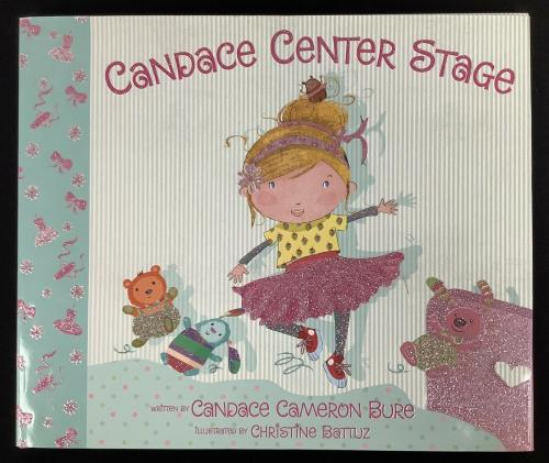 Candace Cameron Bure Signed Book Center Stage HCB Full House DJ Autograph JSA