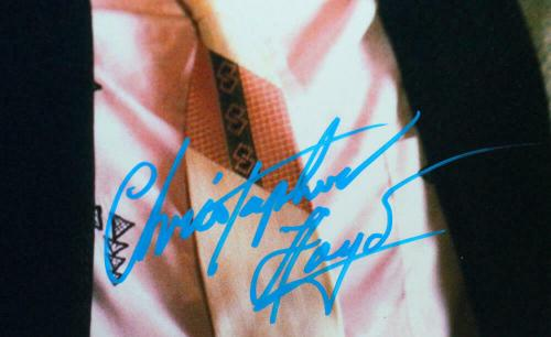 Christopher Lloyd Signed 16x20 Photo Back to the Future Close Up- JSA Auth *Blue