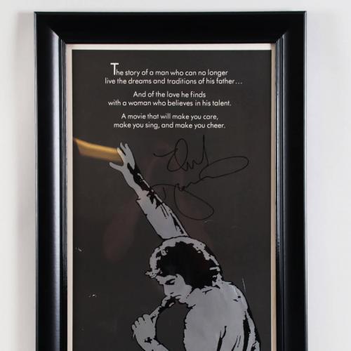 Neil Diamond Signed Poster – COA PSA/DNA