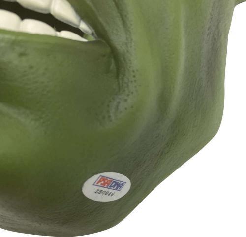 Stan Lee Signed Autographed The Hulk Mask Marvel PSA/DNA