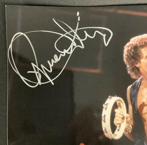 Roger Daltrey Signed Photo 8x10 Rock Music The Who Lead Singer Autograph PSA/DNA