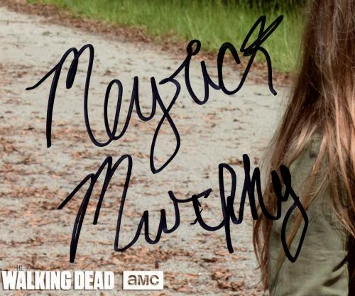 Meyrick Murphy Signed The Walking Dead Unframed 8×10 Photo