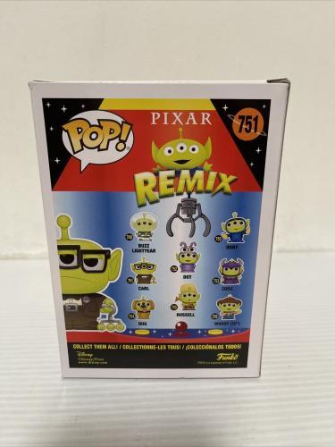 Ed Asner Signed Autographed Carl Alien Up Funko Pop Disney Pixar Beckett COA