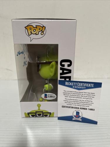 Ed Asner Signed Autographed Carl Alien Up Funko Pop Disney Pixar Beckett COA 3