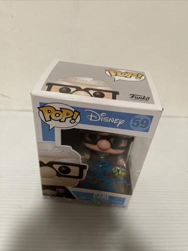 Ed Asner Signed Autographed Carl Up Funko Pop Disney Pixar Beckett COA 4