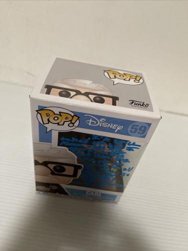 Ed Asner Signed Autographed Carl Up Funko Pop Disney Pixar Beckett COA 2
