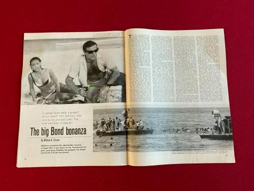 "1965, Sean Connery (James Bond), ""POST"" Magazine (Scarce / Vintage)"