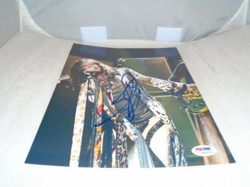 Steven Tyler Signed 8x10 Photo Autographed Aerosmith PSA/DNA COA 1A