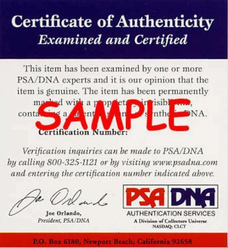 Jim James Arness PSA DNA Coa Signed Album Page Autograph