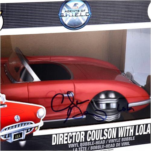 "Clark Gregg Agents of S.H.I.E.L.D Autographed #12 Funko Pop! With ""Lola"" Inscription"