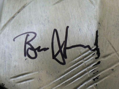 Ben Affleck Autographed/Signed Batman Hard Gold Mask BAS 21505