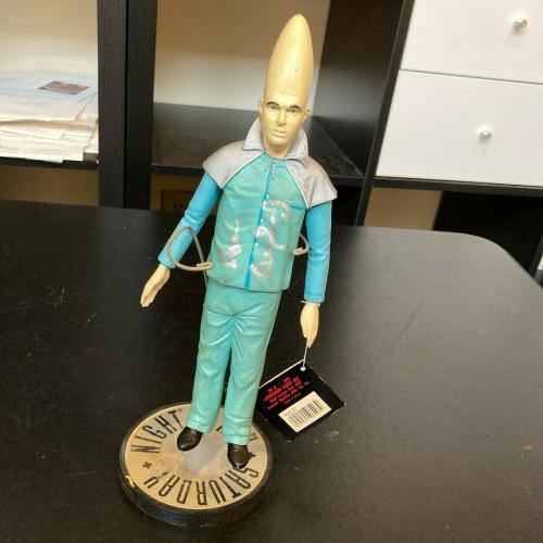 Dan Aykroyd Signed SNL Conehead Action Figure - Beldar JSA COA