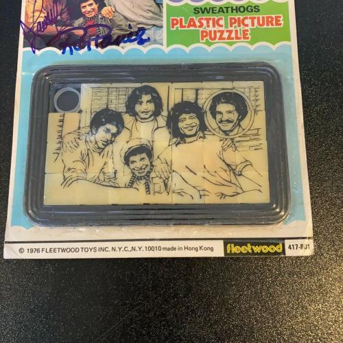 Ron Palillo Lawrence Hilton-Jacobs Signed Welcome Back Kotter Vintage Toy JSA