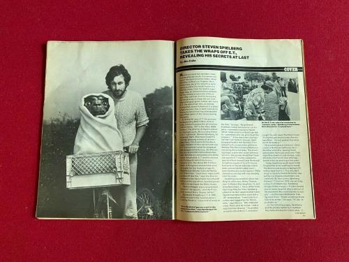 "1982, E.T., ""People"" Magazine (No Label) Scarce / Vintage"