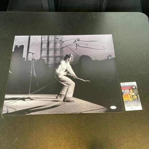 Pete Townshend Signed Autographed 16x20 Photo JSA COA The Who