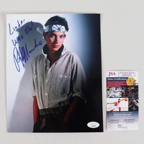 Ralph Macchio Signed 8×10 Photo The Karate Kid – COA JSA