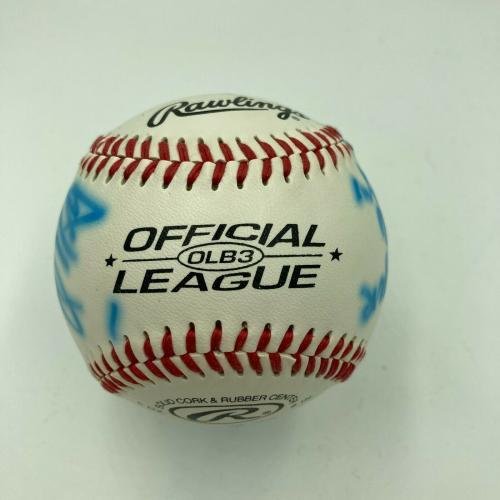 1999 Saturday Night Live Cast Signed Baseball Gasteyer Parnell Sanz Meadows JSA