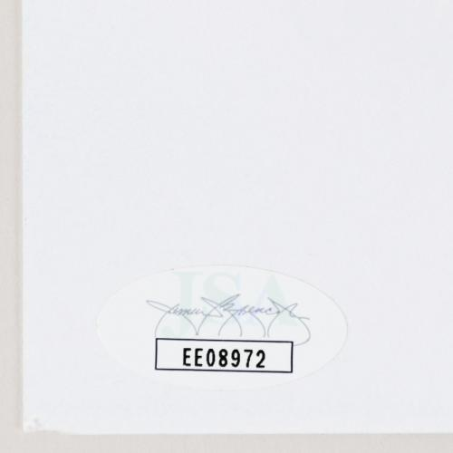 Dick Van Dyke Signed Index Card – COA JSA