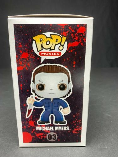"Nick Castle Signed Funko Pop ""Halloween"" Michael Myers BAS WD75941"